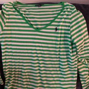 NWOT Ralph Lauren Long Sleeve Polo Shirt